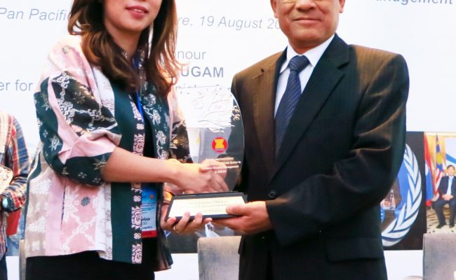 IVK with Le Luong Minh Secretary General of ASEAN