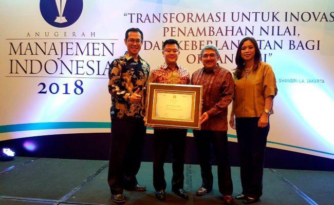 FT Bersama AMI Award 2018 bersama Kemal Gani Pemimpin Redaksi SWA